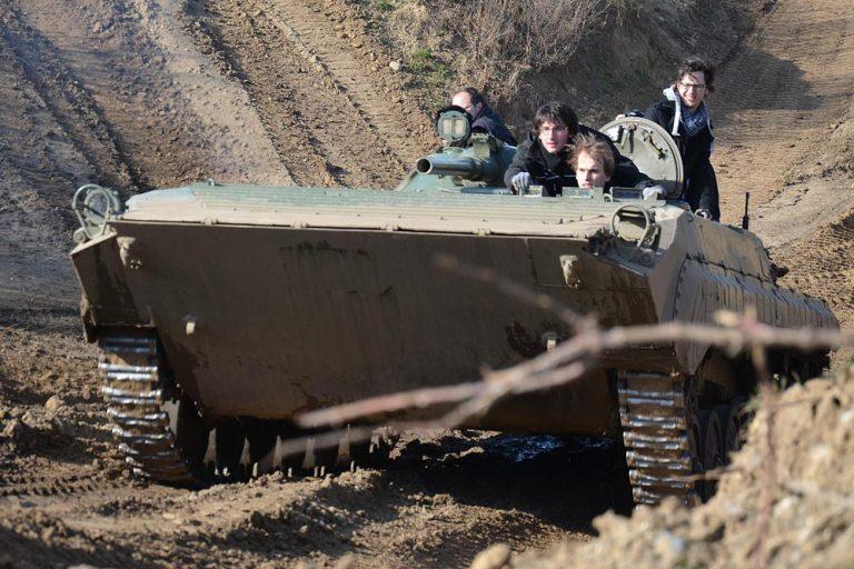 bmp schützenpanzer fahren