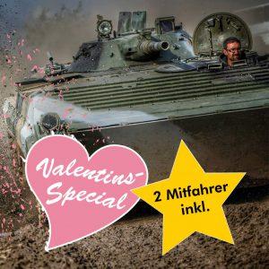 BMP Schützenpanzer fahren im Valentins-Special 2019