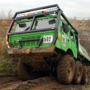 Echte Kletterfähigkeiten kannst du beim Truck Trial mit dem Tatra testen