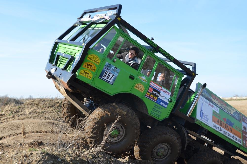 Mit dem Tatra Trial Truck klettern Sie mühelos über jede Anhöhe