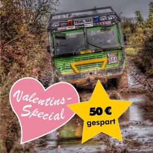 Tatra Offroadtruck selber fahren im Valentins-Special 2019