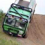 Steil bergab geht es mit dem Tatra Trial Truck.