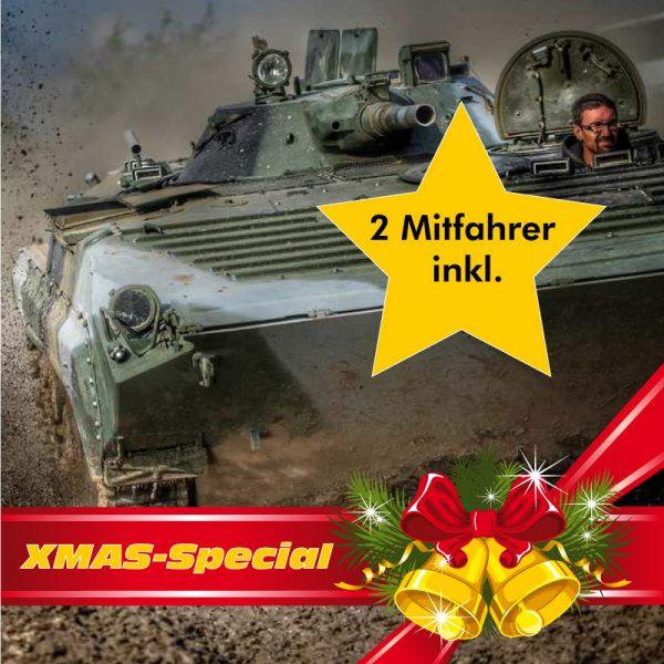XMas-Special BMP Schützenpanzer fahren inkl1 2 Mitfahrer