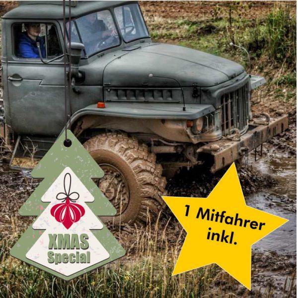 XMas-Special: Ural Geländetruck fahren im Offroad Kessel Landsberg