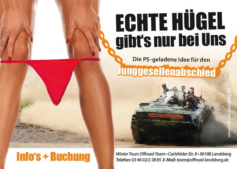 Die außergewöhnliche Idee: Panzer fahren zum Junggesellenabschied