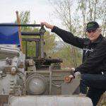Panzer-Instruktor Rico fährt bei uns alles, was Ketten hat