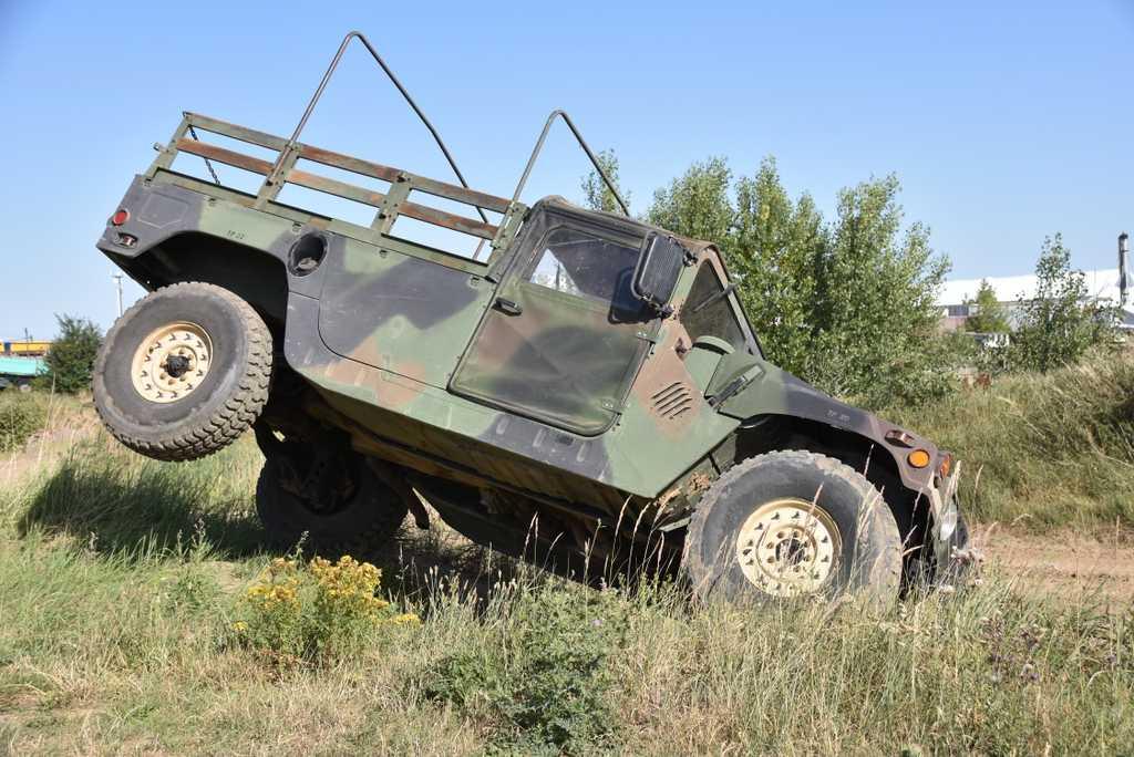 Hummer H1 selber fahren